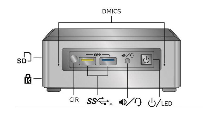 Intel обнародовала характеристики мини-компьютеров NUC на платформе Apollo Lake