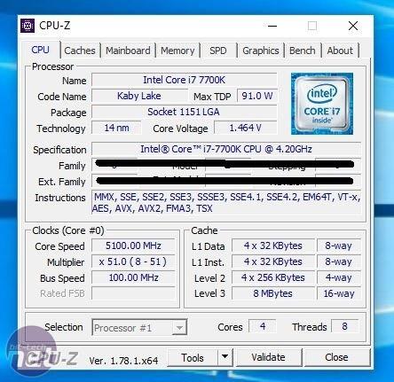 Разгон Core i7-7700K