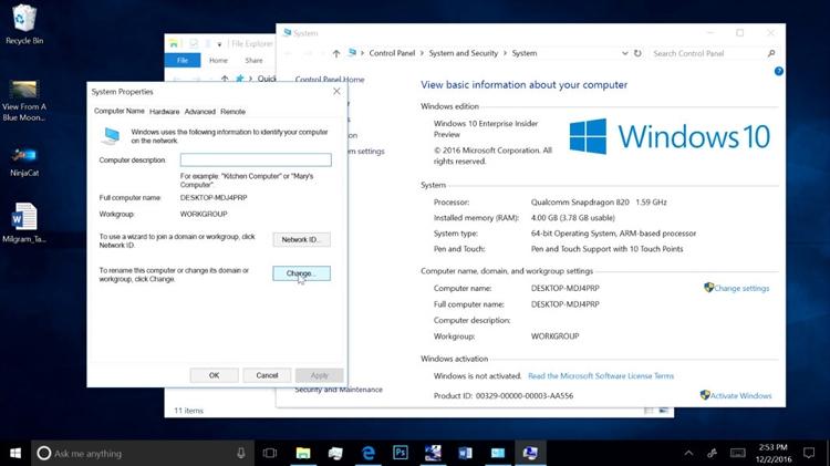 """Новые процессоры Qualcomm Snapdragon обеспечат поддержку Windows 10"""""""