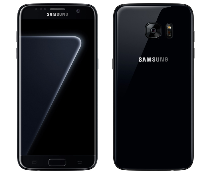 Смартфон Samsung Galaxy S7 edge предстал в варианте Black Pearl