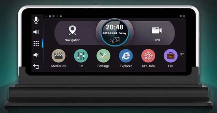 Junsun H552C: автомобильный Android-навигатор с двумя камерами