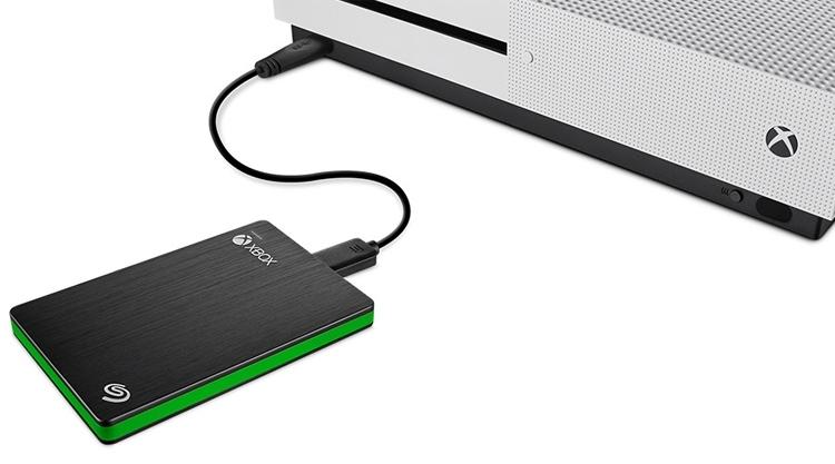 Внешний SSD Seagate для консоли Microsoft Xbox