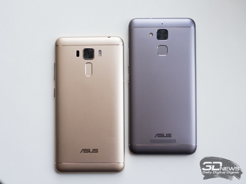 ASUS Zenfone 3 Laser и Zenfone 3 Max