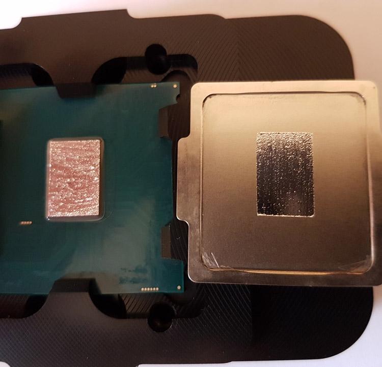 Core i7-7700K - скальпирование