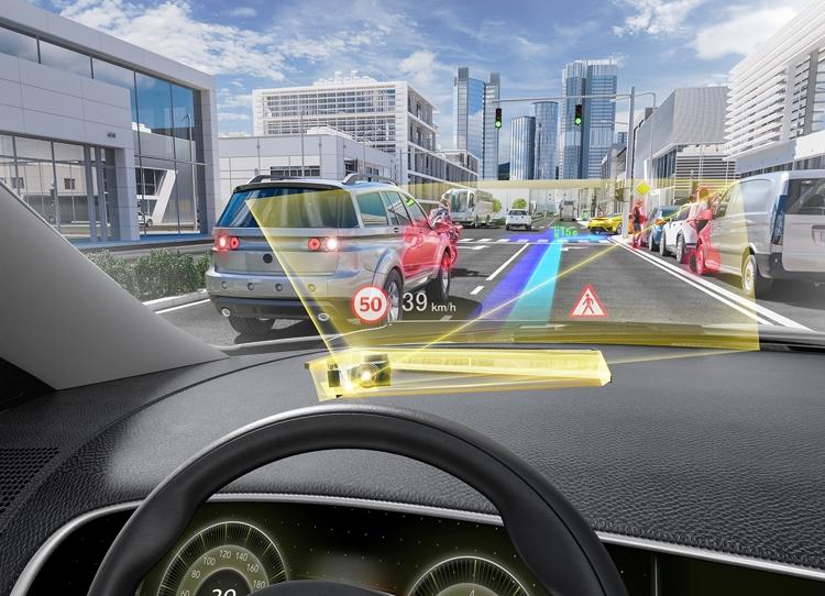 """Continental и DigiLens займутся созданием HUD-дисплея дополненной реальности"""""""