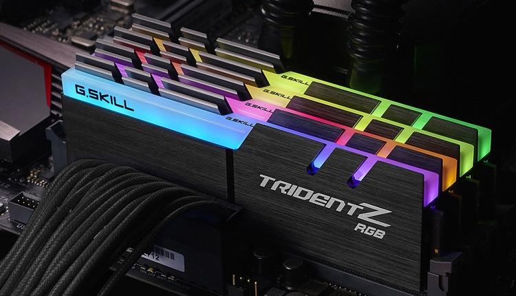 G.Skill Trident Z RGB Series: модули памяти DDR4 с многоцветной подсветкой