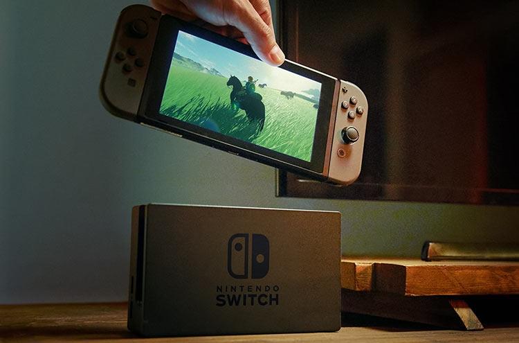 Технические данные Nintendo Switch просочились всеть