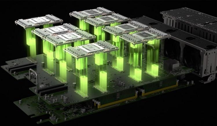 Новый принцип построения узлов суперкомпьютера. Количество плат ускорителей не соответствует указанному в заметке