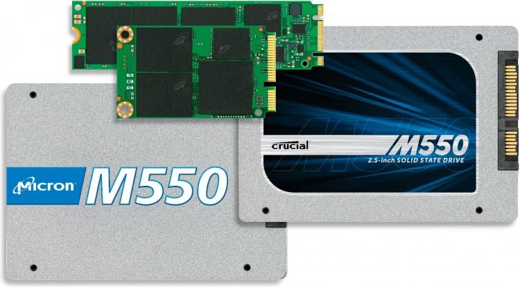 SSD производства Micron/Crucial