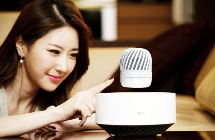"LG представила парящий Bluetooth-динамик"""
