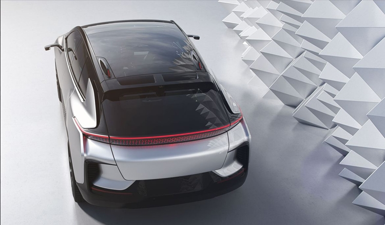 "CES 2017: электрический суперкар Faraday Future FF 91 разгоняется «до сотни» за 2,4 секунды"""