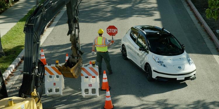 """CES 2017: технология Nissan SAM поможет робомобилям справляться с непредвиденными ситуациями"""""""