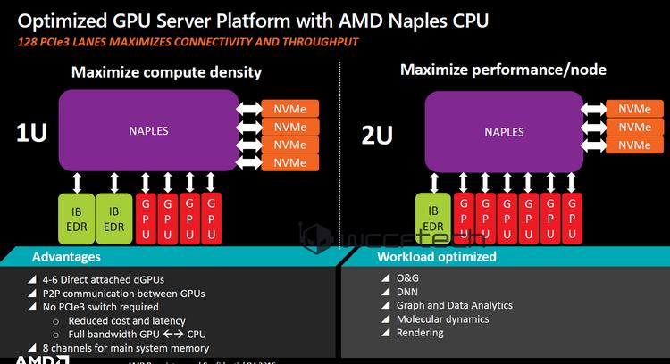 Основные варианты новых вычислительных платформ, предлагаемых AMD