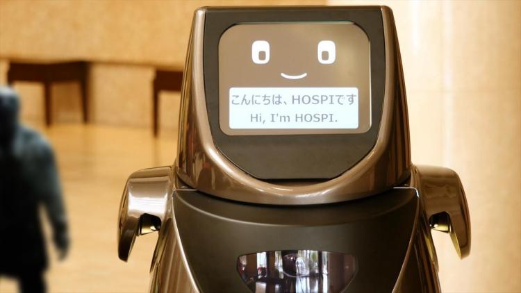 Робот Panasonic HOSPI(R) примется за развозку еды и питья