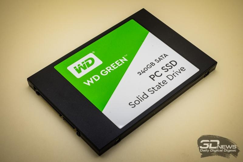 Обзор SSD-накопителя WD Green: начальный уровень