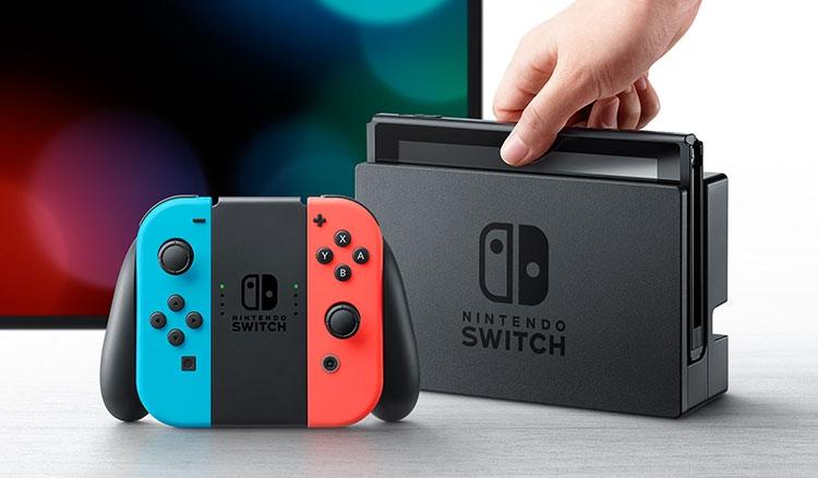Nintendo представил новейшую игровую приставку Nintendo Switch