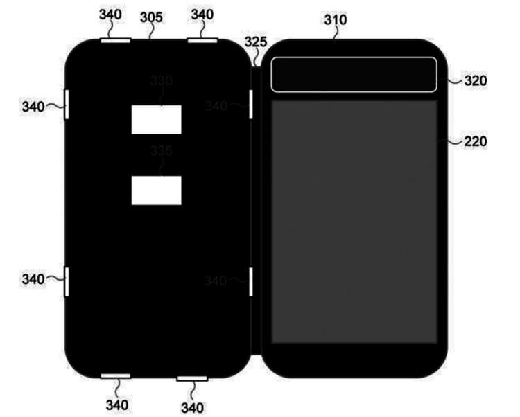 """Samsung предлагает встраивать дисплеи E-Ink в чехлы для смартфонов"""""""