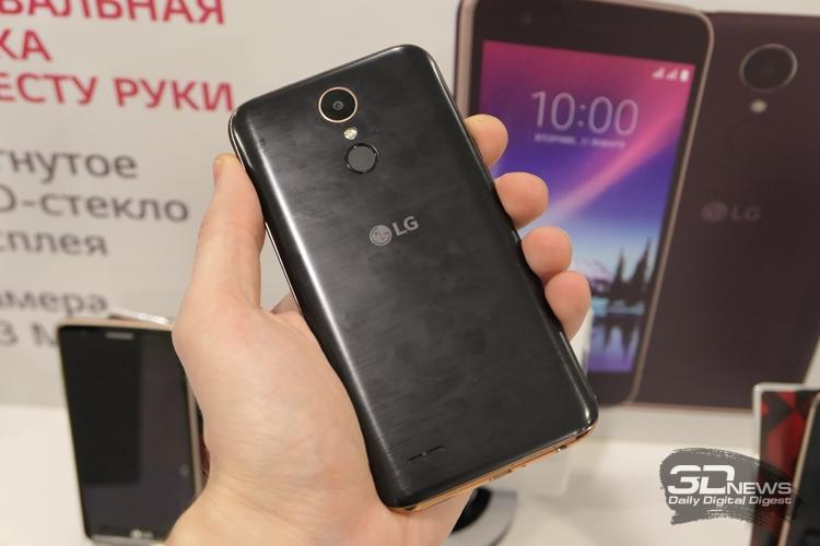КомпанияLG представила в столице России  сразу 3 собственных  устройства: К7, К8, К10