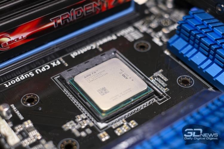AMD представила процессоры Ryzen 7. Старшие модели будут поставляться без систем охлаждения