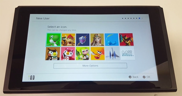 """Видео: распаковка, первый запуск и пользовательский интерфейс Nintendo Switch"""""""