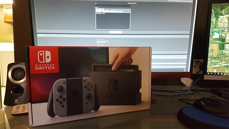 """Продемонстрированная недавно Nintendo Switch оказалась украденной"""""""