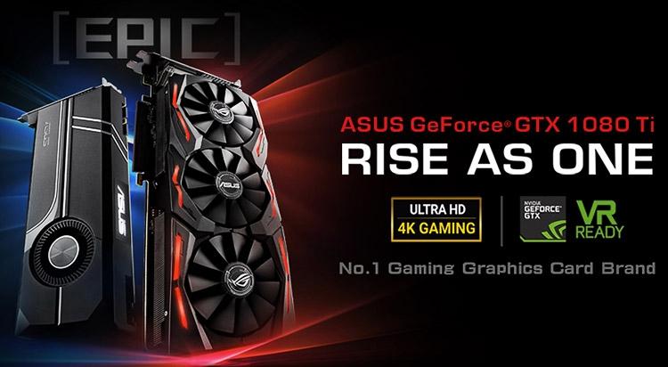 Модели ASUS Ge Force GTX 1080 Ti