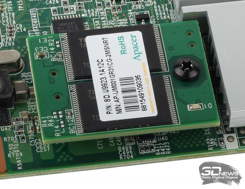 Основной флеш-модуль Apacer AP-UM001GR31CG-2MSNRT