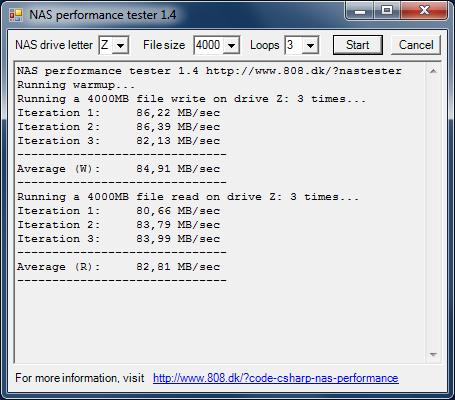 Производительность Drobo 5N с дисковым массивом BeyondRAID