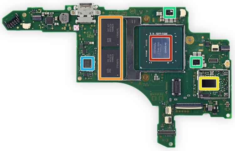"""Видео: Разборка Nintendo Switch от iFixit"""""""