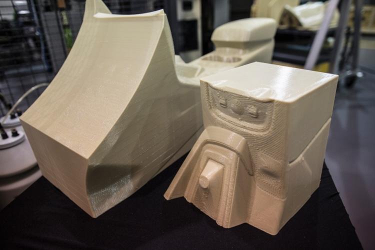 Форд продемонстрировал тестирования напечатанных на3D-принтере деталей