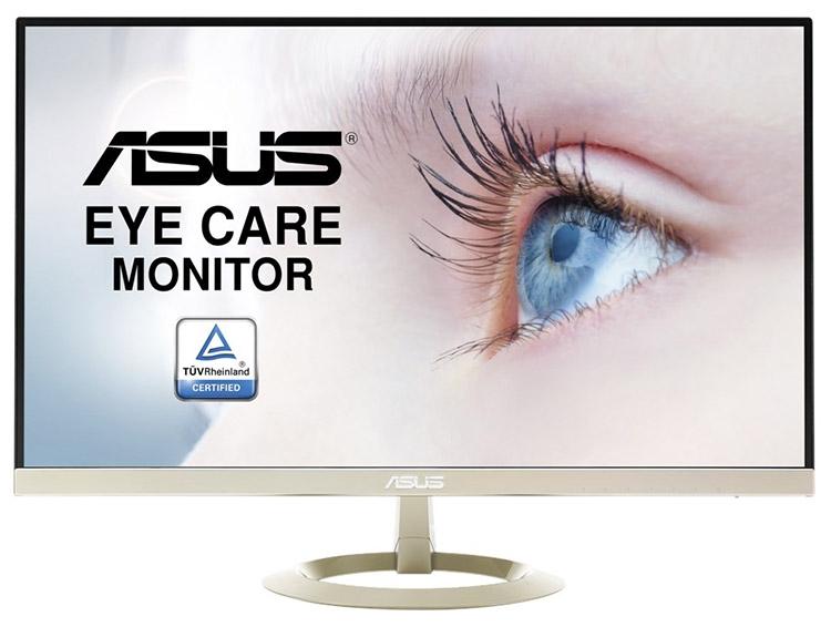 Asus презентовала монитор обновленного поколения