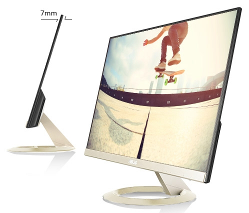Компания Asus представила IPS-монитор VZ27AQ обновленного поколения