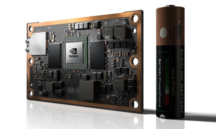 Nvidia представила обучаемый компьютер для роботов идронов