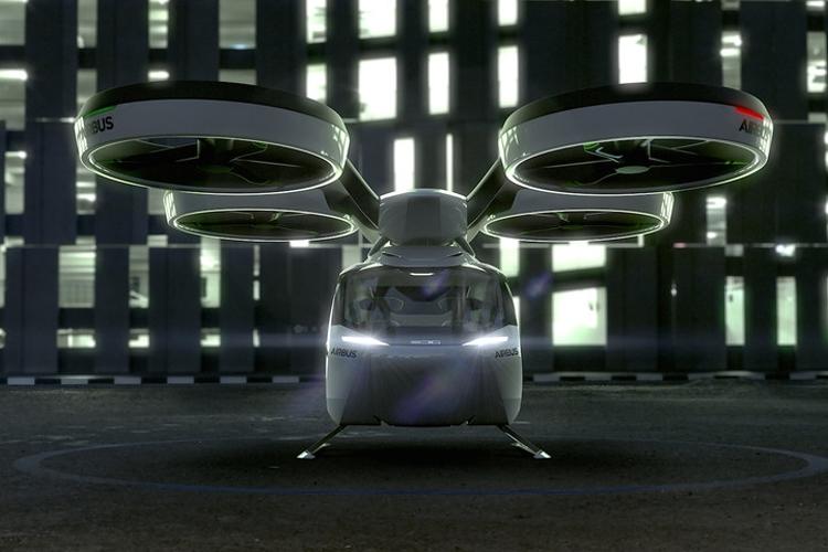 """Airbus и ItalDesign представили концепцию модульного летающего автомобиля"""""""