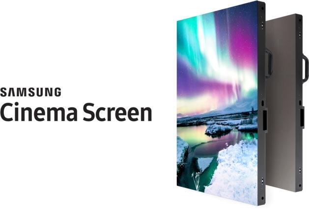 samsung нацелилась кинотеатры представив 4k-дисплей диагональю метров