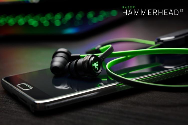 Razer представила новые гарнитуры Hammerhead V2 погружного типа