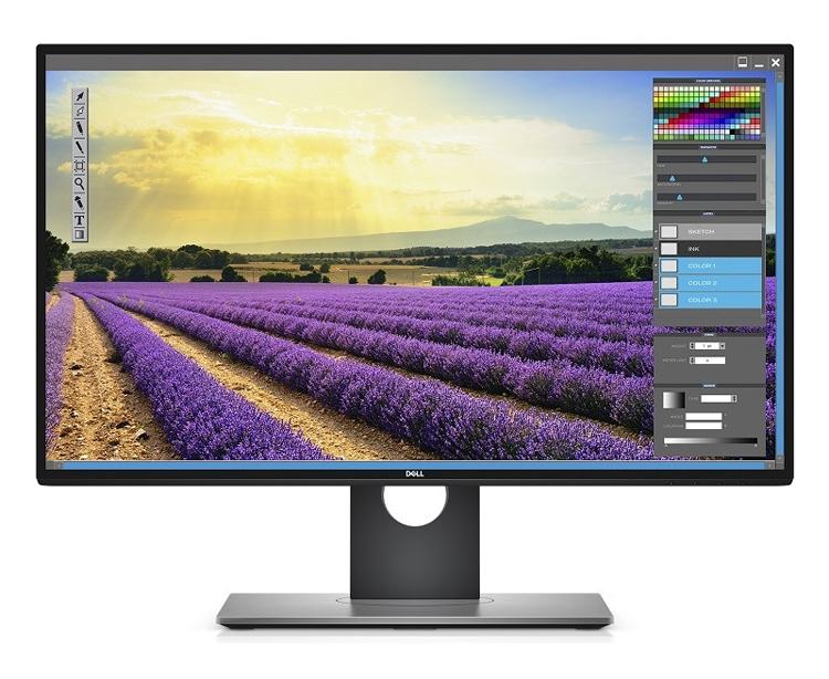 Монитор Dell UltraSharp UP2718Q соответствует формату 4К