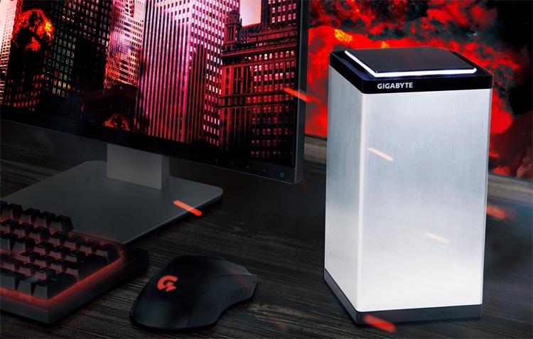 новые мини-компьютеры gigabyte brix gaming оснащены ускорителем geforce