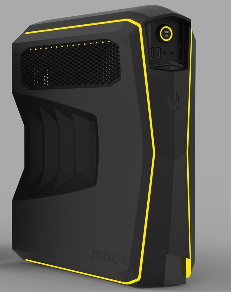 computex 2017 игровой компьютер небольшого форм-фактора zotac mek
