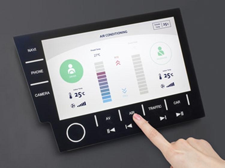 Japan Display представила автомобильный дисплей со встроенной панелью навигации