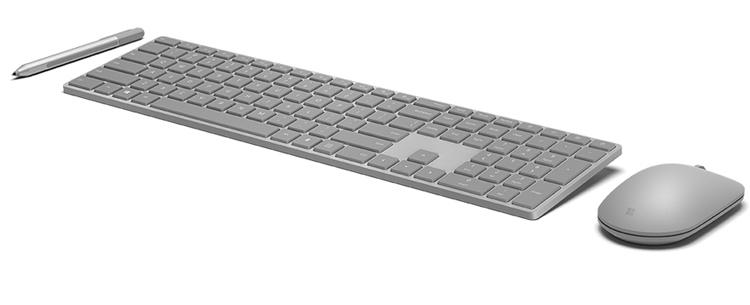 Клавиатура Microsoft Modern Keyboard оснащена сканером отпечатков пальцев