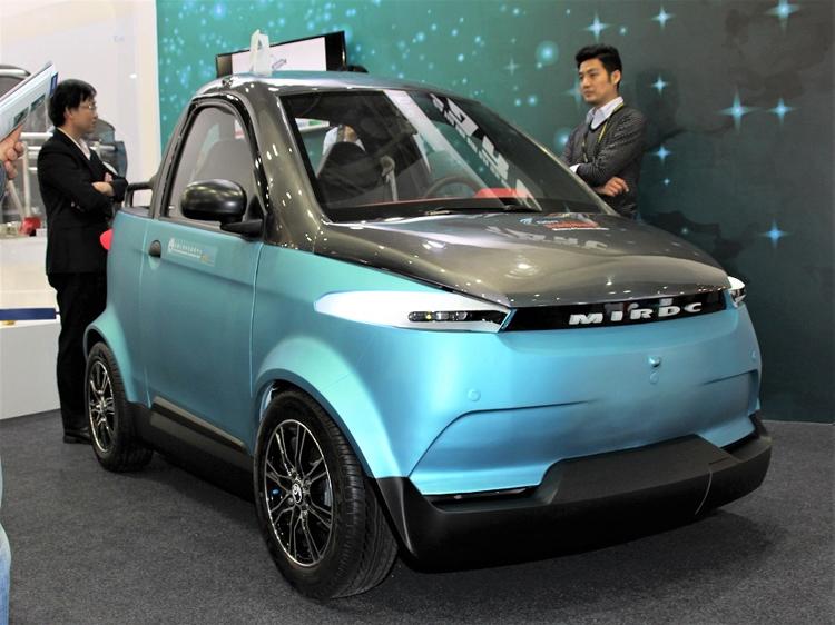 На Тайване представлен электромобиль с кузовом, напечатанным на 3D-принтере