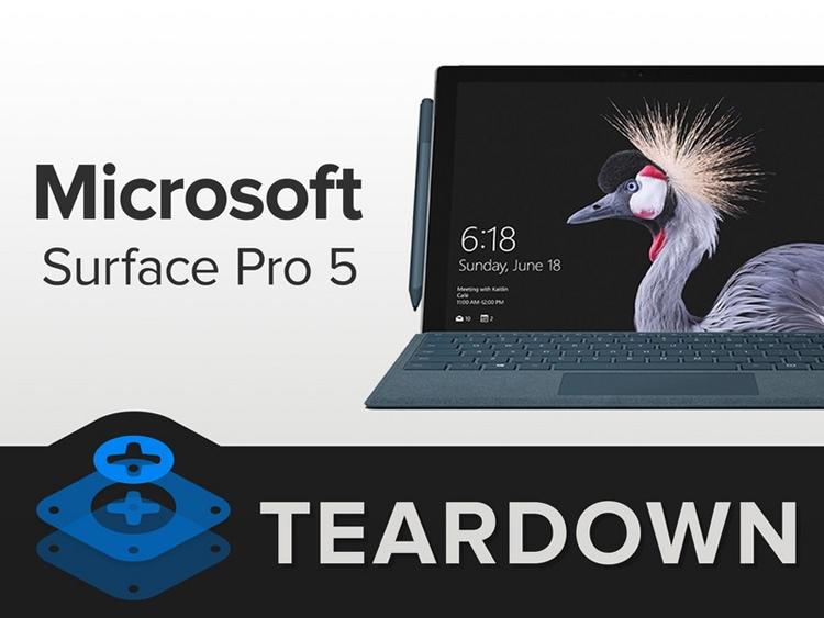Вскрытие нового Microsoft Surface Pro: что скрывает внутри планшет