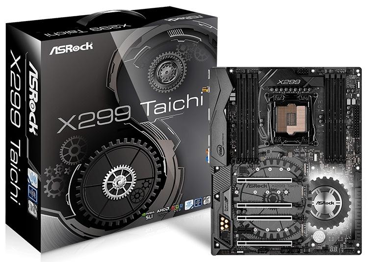 ASRock X299 Taichi и X299 Killer SLI/ac: строгая расцветка, яркая подсветка