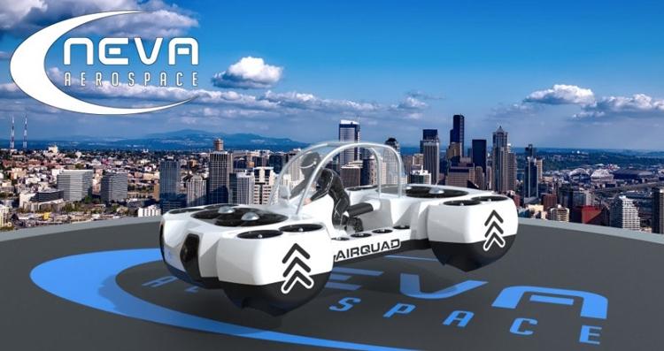 AirQuadOne: новый проект персонального летающего транспортного средства