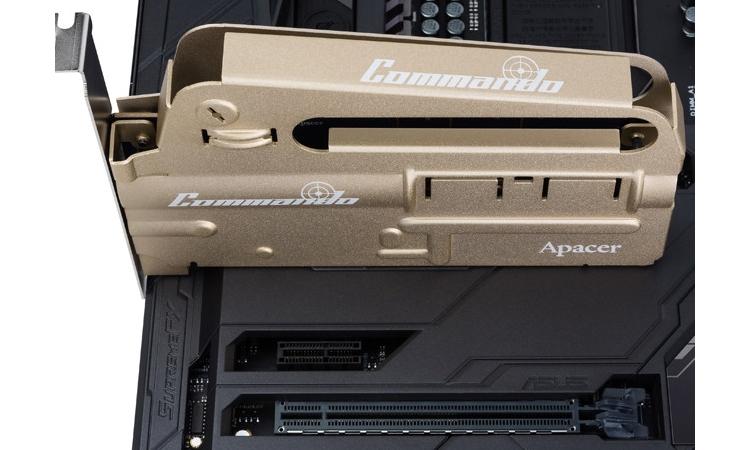 Apacer PT920 Commando: SSD-накопители с необычным дизайном для игровых ПК