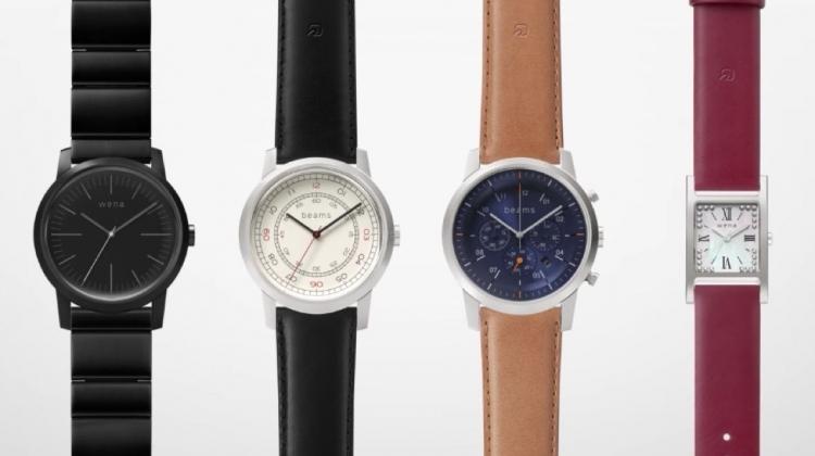 Sony подготовила для японского рынка смарт-часы Three Hands Square