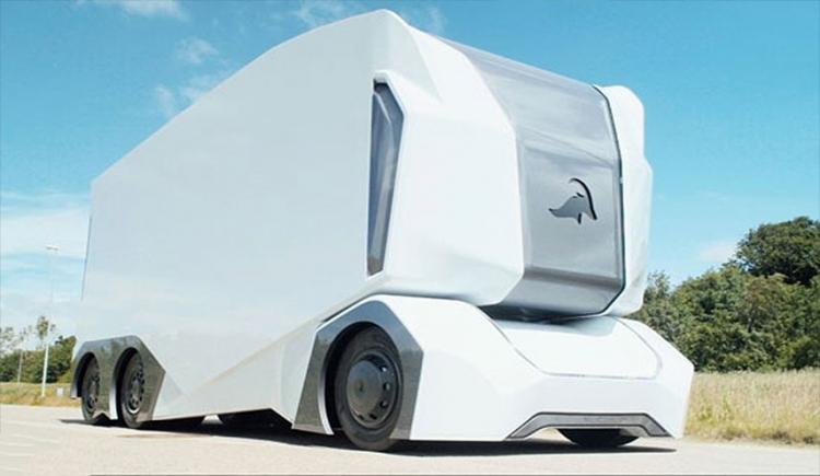 Беспилотный электрогрузовик EinrideT-Pod: концепт фуры будущего