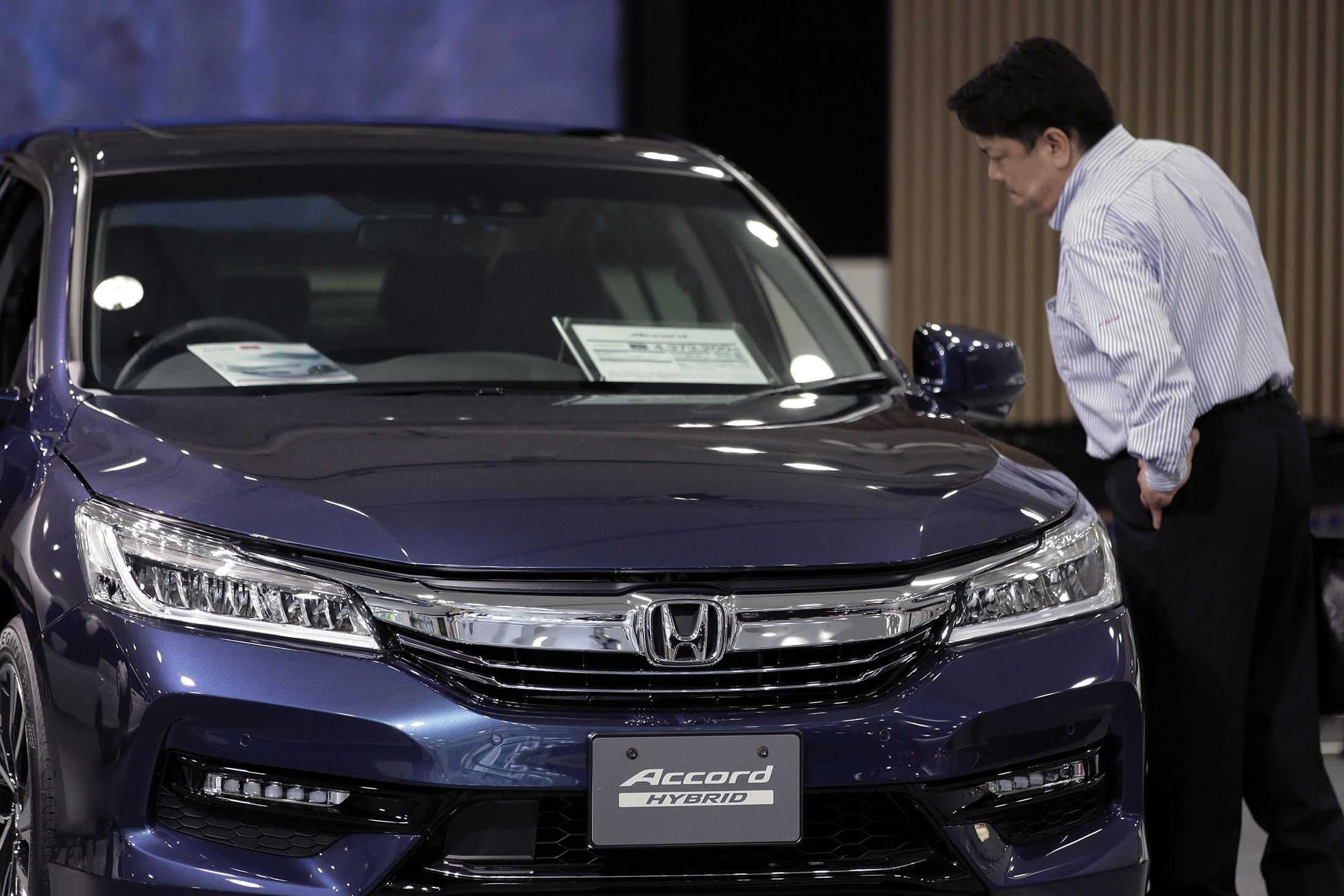 Honda отзывает 1,2 млн автомобилей Accord из-за риска самовозгорания
