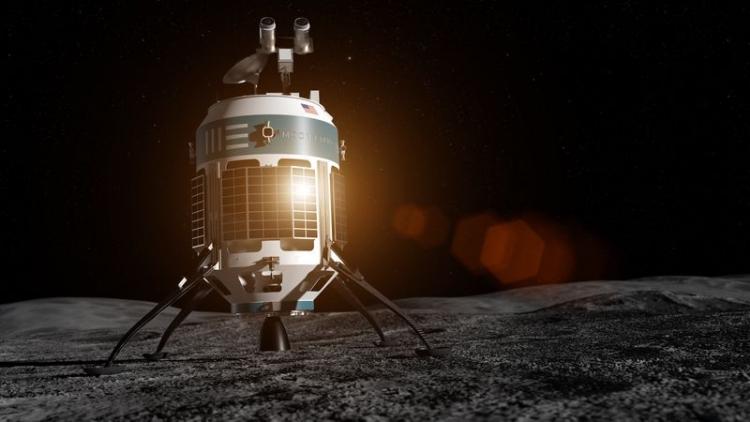 Частная компания Moon Express планирует развернуть добычу ресурсов на Луне с помощью роботов
